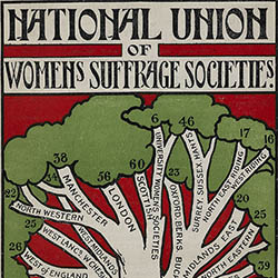 National Union of Women's Suffrage Societies Poster