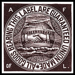 American Federation of Labor union label