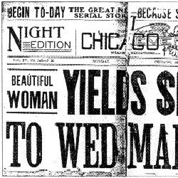 Front Page of the Chicago American, January 22, 1904