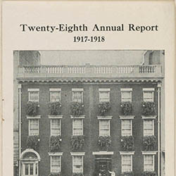 Jacob A. Riis Neighborhood Settlement.Twenty-Eighth Annual Report, 1917–1918