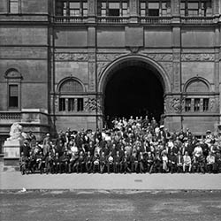 First Universal Races Congress Delegates Outside the Imperial Institute, London